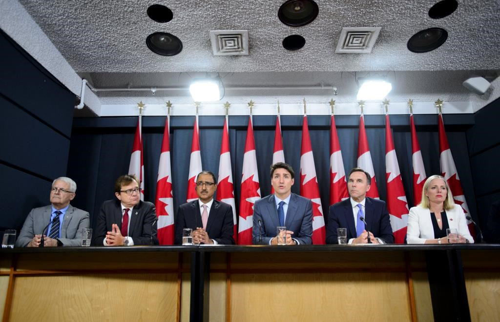 Federal cabinet ministers visit Edmonton, Calgary, in wake of TMX