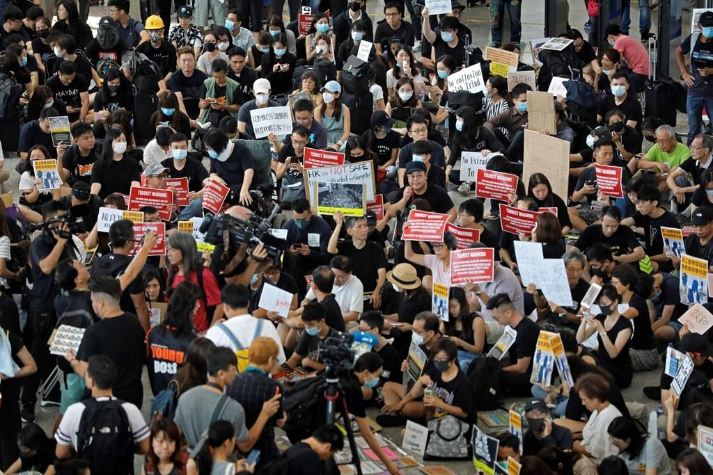 Canada raises travel warning amid escalating protests in Hong Kong