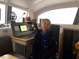 Thunberg, teen climate activist, leaves US aboard catamaran