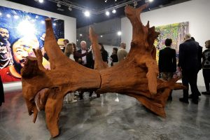 Miami Beach unveils traffic sculpture made of sand