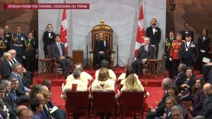 Liberal throne speech pledges to work with opposition MPs, welcome their ideas