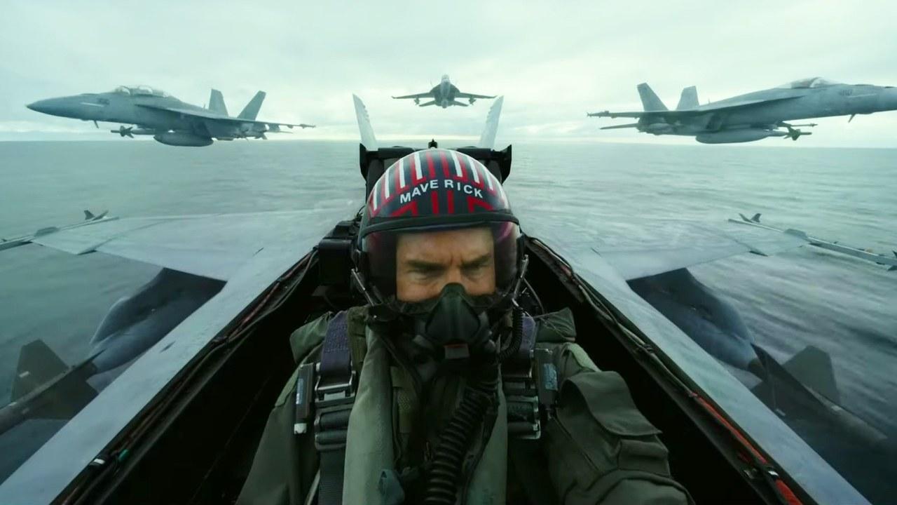 Tom Cruise returns as flight instructor in 'Top Gun: Maverick'