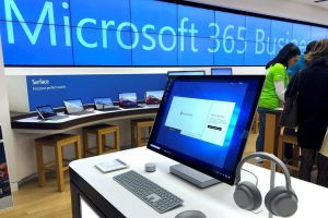 Microsoft says supply chain slowed by virus outbreak