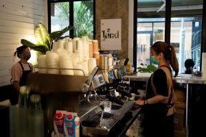 Hong Kong's first CBD cafe opens its doors to customers