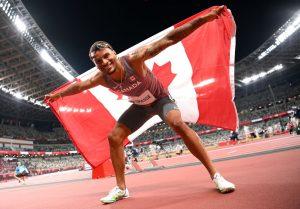 Andre De Grasse repeats as bronze medalist in men's 100m Olympic final